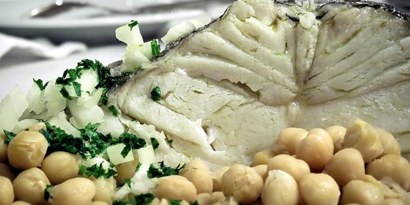 Bacalhau alto cozido